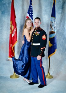 Heather Wise and Dave Walt at the Navy/Marine Ball