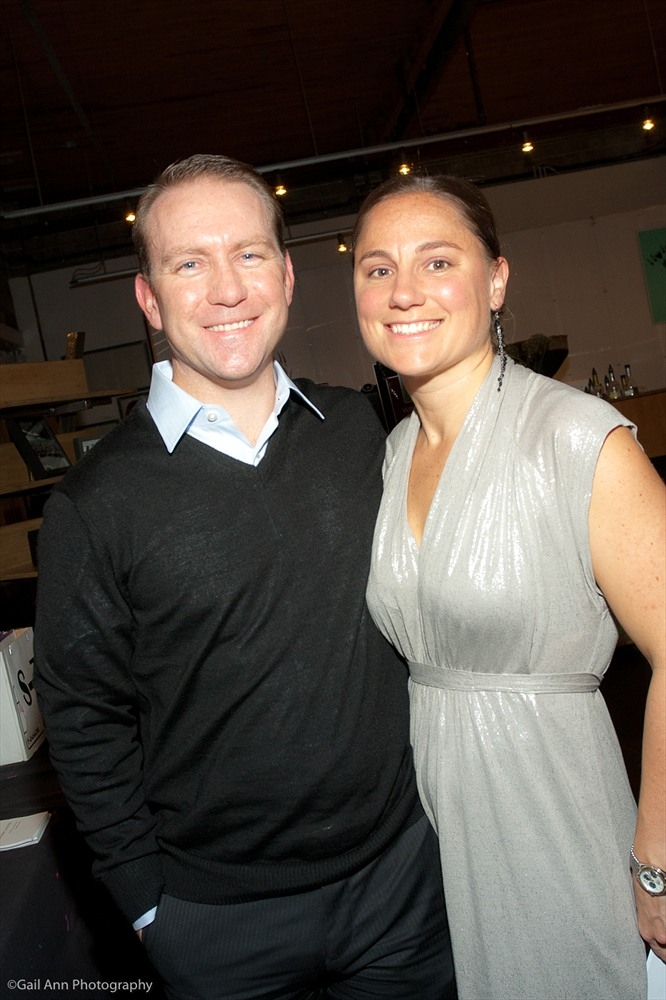 Jennifer and her husband Dan at the CCFA Annual Casino Night and Silent Auction. Photo courtesy of Gail Ann Photography