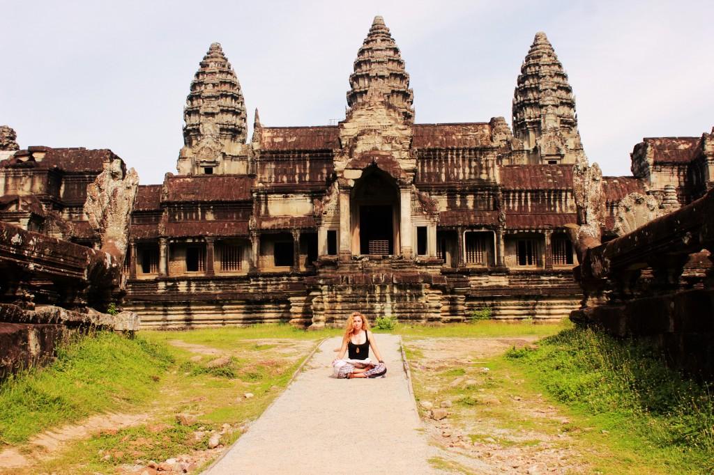 Devon Geary in Cambodia