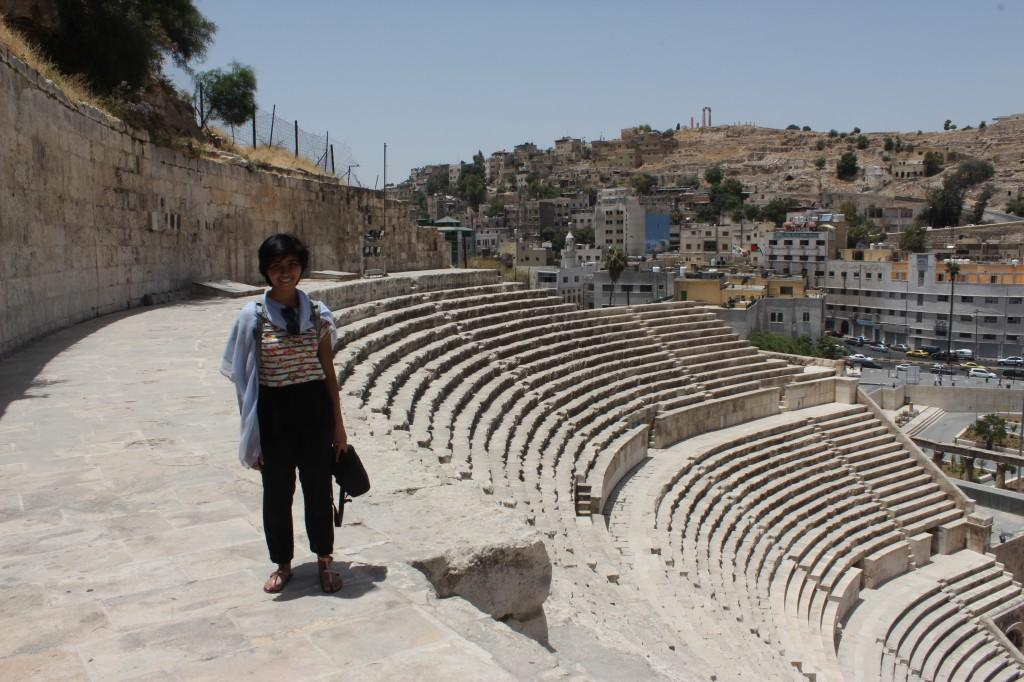 Imana Gunawan in Jordan