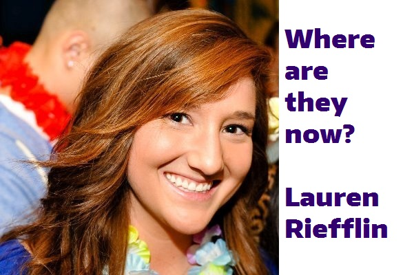 Where are they now? Lauren Riefflin