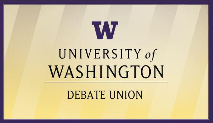 Debate Union banner