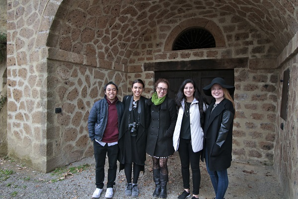 John, Lydia, our tour guide Anna, Brenda and me in Orvieto, Italy for a wine tasting tour.