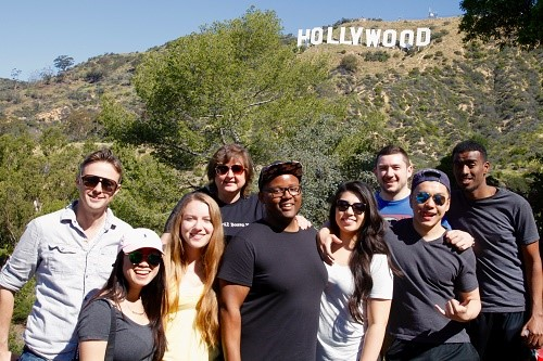 Career Exploration: Eight Students, Three Days, and One City of Angels
